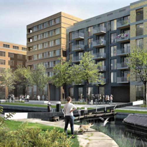 Bream Street Wharf - Secant Pile Retaining Wall & Bearing Piles