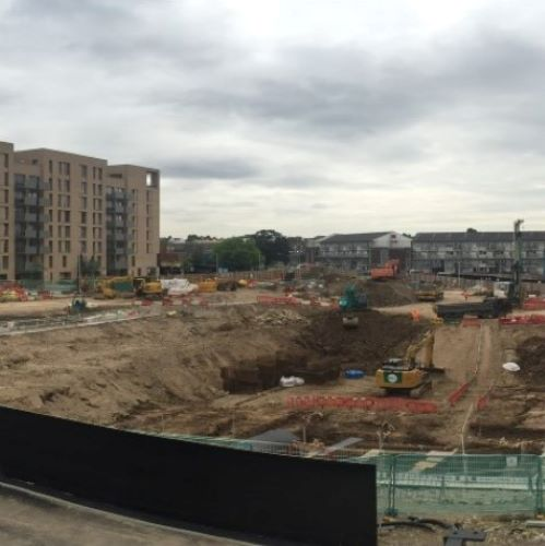 West Hendon Redevelopment - Basement Retaining Walls, Bearing Piles & Ground Anchors