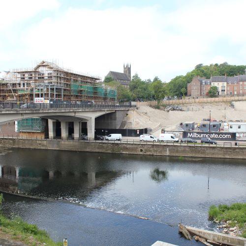 Milburngate Development - Temporary Works & Sheet Piling
