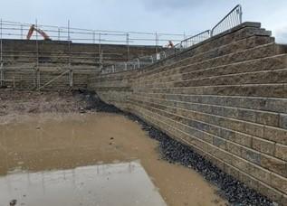 Carrfield Mill, Hyde - Reinforced Soil Retaining Wall