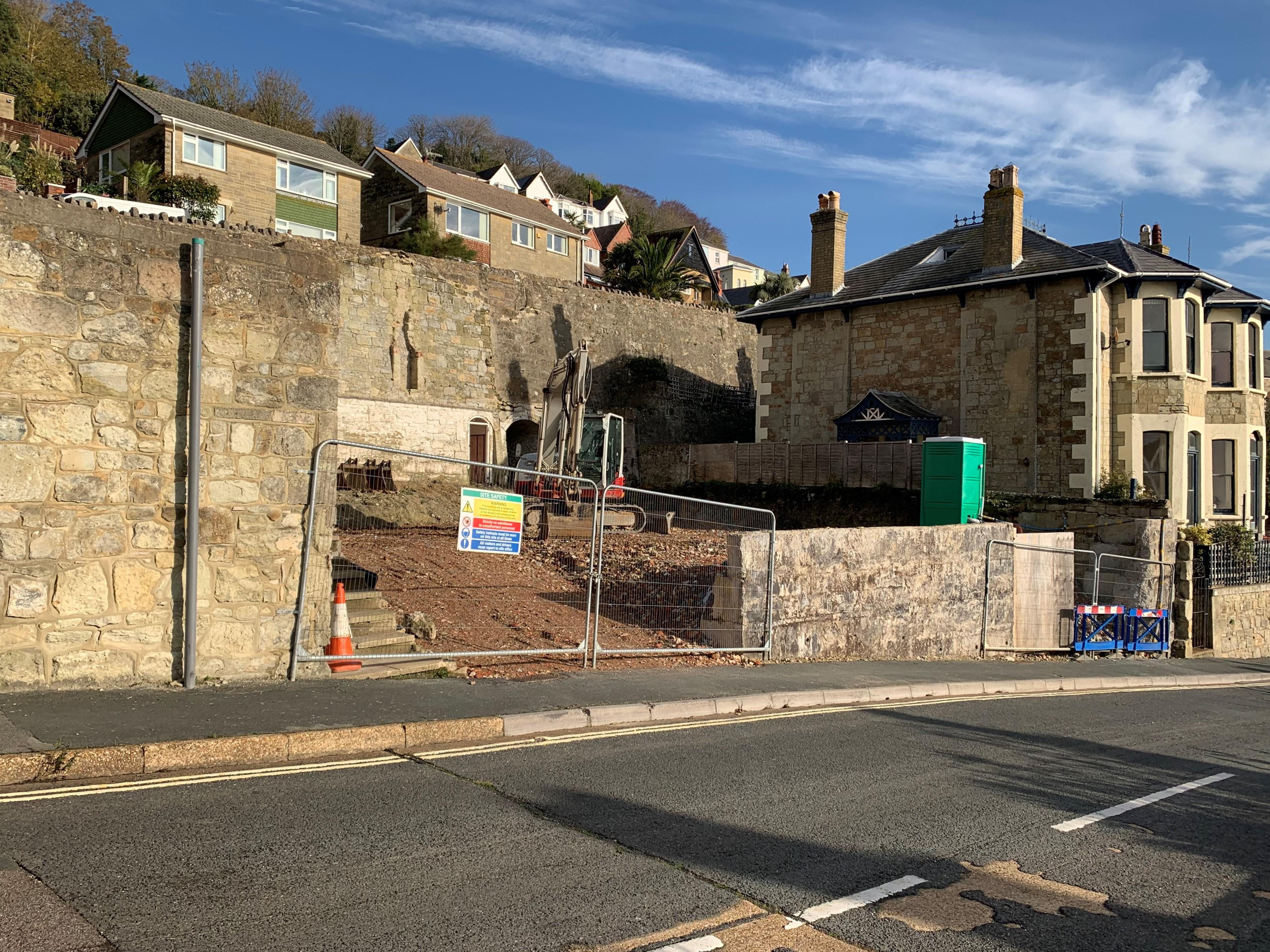 Ventnor, Isle of Wight - Building on a Landslide